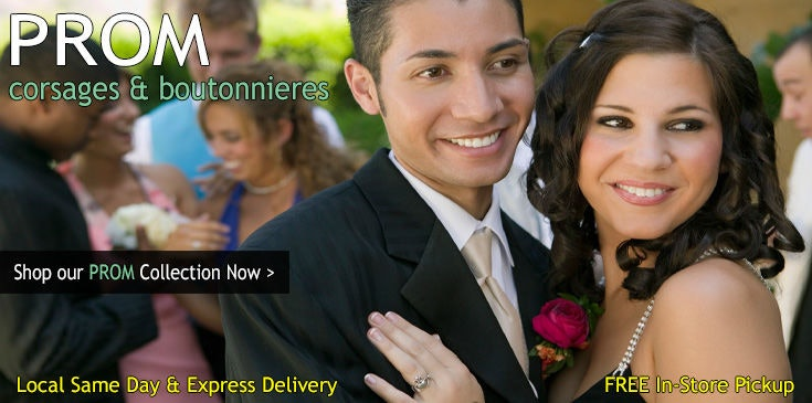 Shop Pugh's Flowers for the best selection of Prom Flowers, Corsages and Boutonnieres in Memphis TN.