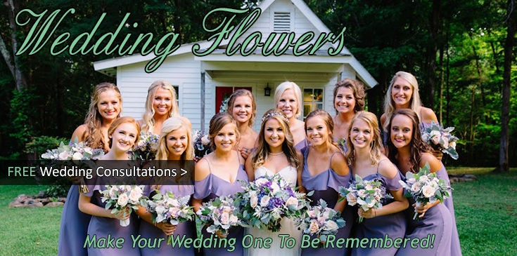 Bridal Bouquets, Wedding Flowers, Reception Flowers, Chapel Flowers