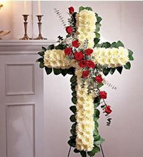 Standing Rose Cross