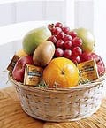 Fruit & Snack Basket of Fruit & Chocolates