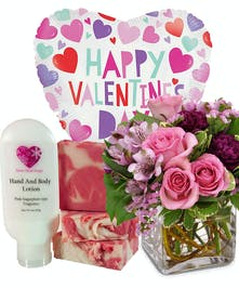 With Boutique Lotion and Soap