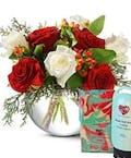 Rose Bowl Plus Bath Gift Set