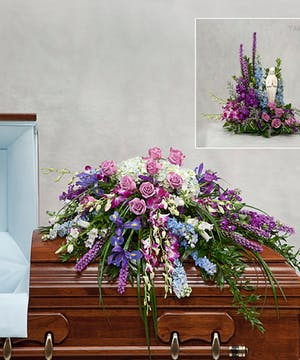 casket cover