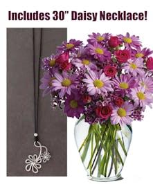 Bouquet Plus Necklace