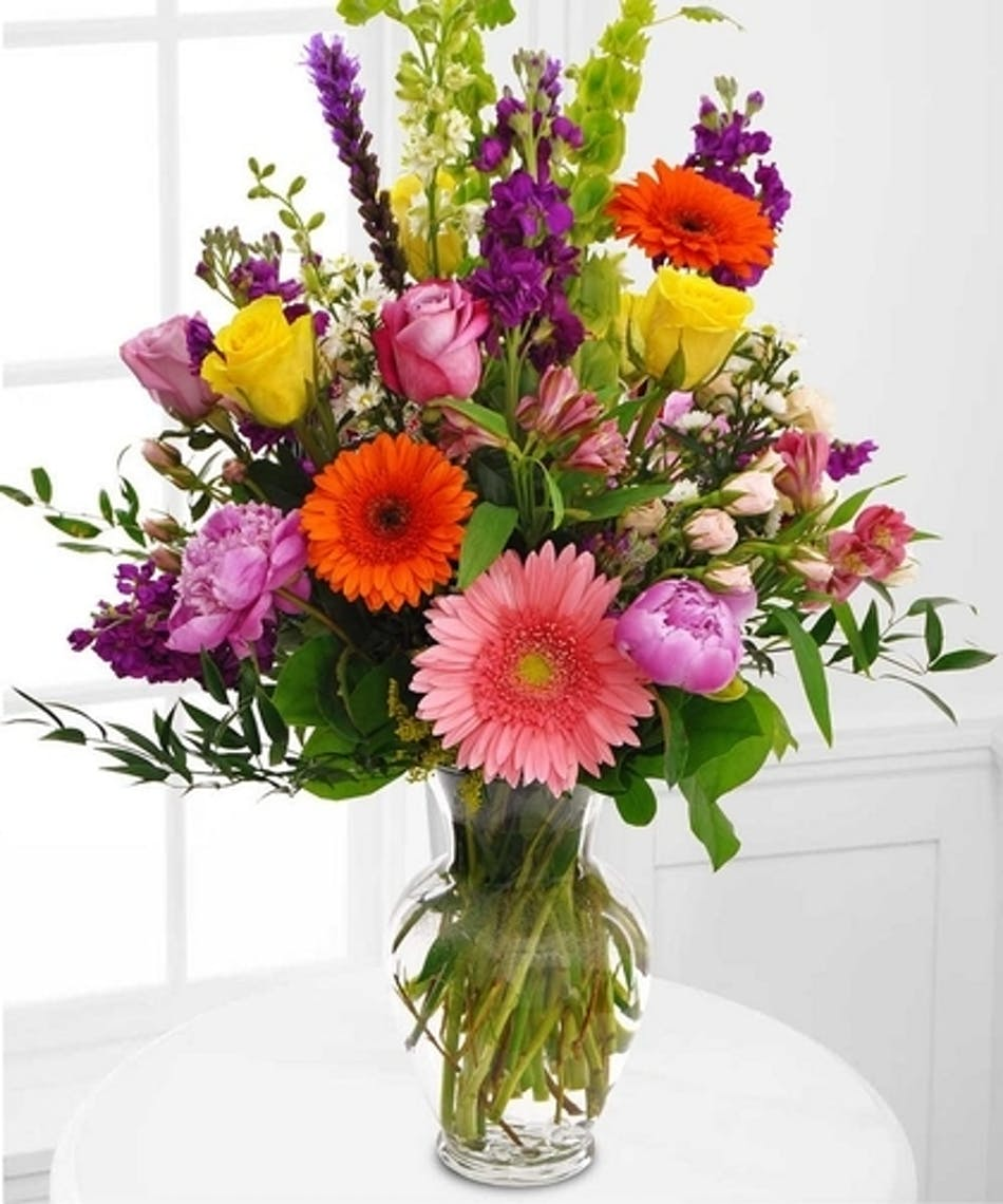 Delightful bouquet mixed stems pughs flowers local florist delightful bouquet mixed stems pughs flowers local florist memphis tn izmirmasajfo