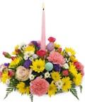 Spring Candle Centerpiece