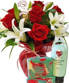 Roses and Boutique Soap/Lotion