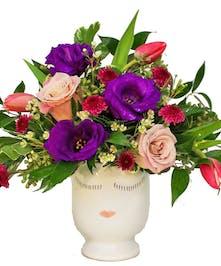 Selfie Vase Arrangement