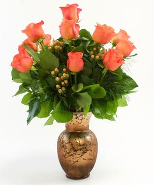 In Autumn Vase