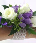 Purple Power Corsage