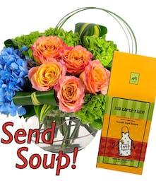 Flowers Plus Soup!