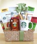 Starbucks Evergreen Coffee and Tea Basket