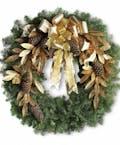 Festive Fresh Wreath