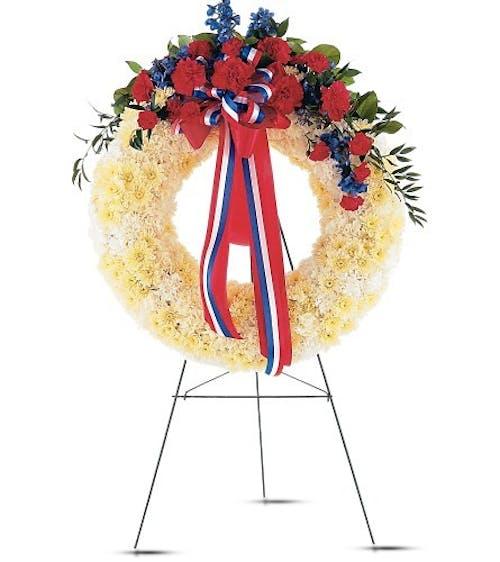 Patriotic Spirit Wreath