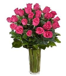 Long Stemmed Pink Roses