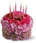 Birthday Cake of Flowers
