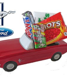 Ford Mustang with Candy