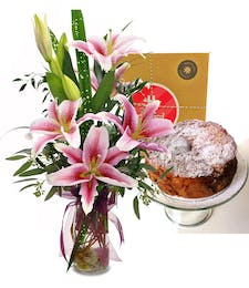 Lilies and Pound Cake
